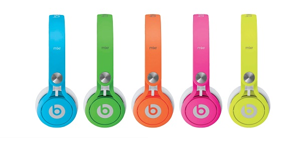 BEATS MIXR beats by dr. dre mixr (neon-side)