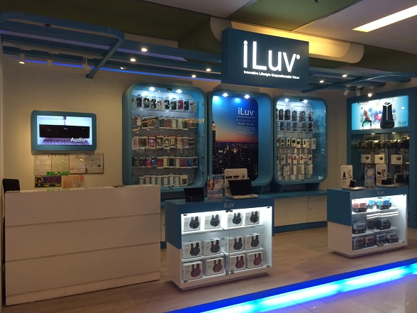 iLuv Opens First Concept Store in the Philippines